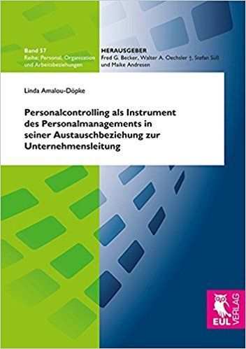 Personalcontrolling als Instrument